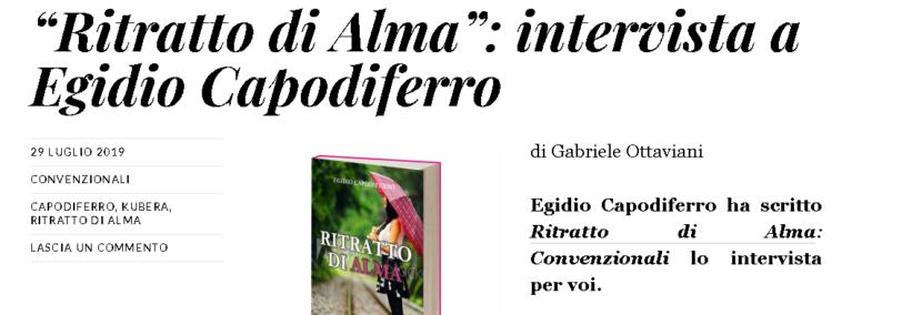 Intervista egidio capodiferro